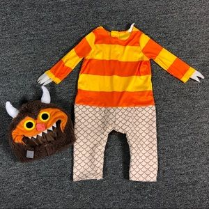 Where the wild things are baby Carol costume
